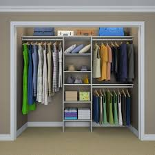 closetmaid selectives 83 in h x 120 in w x 14 5 in d basic