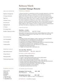 Retail Job Resumes by Assistant Bank Manager Resume The Best Letter Sample