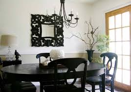 Dining Room Wall Decorating Ideas Dining Room White Trees Painting From Dining Room Wall Decor