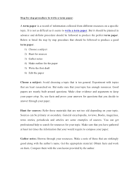 term paper sample format ASB Th  ringen