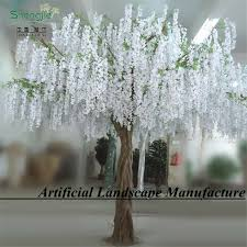 Wisteria Home Decor by Office Home Decor Flower Trees Bonsai For Decoration Artificial
