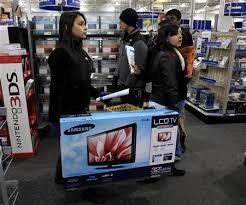 black friday best tv deals us u s holiday weekend sales surge best buy a winner