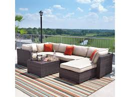 signature design by ashley renway outdoor sectional set with