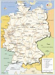 Map Of France And Switzerland by Political Map Of Germany Nations Online Project