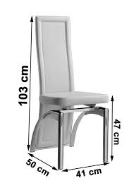 Modern Kitchen Chairs Leather Alisa Ivory Faux Leather Dining Room Chairs Kitchen Furniture