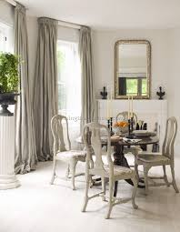 dining room with draperies unusual traditional curtains for