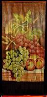 beaded room dividers amazon com bamboo beaded curtain fruit grapes kitchen door way