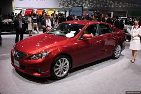 lexus gs mark x tokyo u002709 redesigned toyota mark x rwd sports sedan think