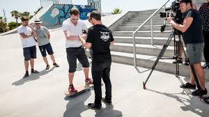 lexus hoverboard skateboard top gear rides the lexus hoverboard