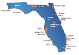 Destin Florida Map by Offices