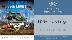 monster truck show discount code get jammin u0027 with monster jam at 10 off today got class