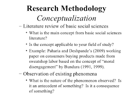 How to write a dissertation methodology sample