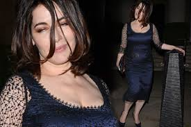 nigella lawson looks exhausted after an evening out at london