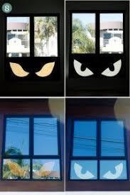 diy halloween diy halloween window silhouettes diy halloween