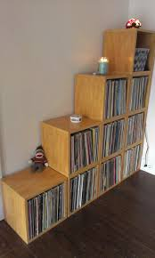 Cube Storage Shelves The Super Storage Record Cube From Way Basics Solid Stackable