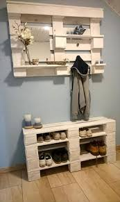 Diy Reclaimed Wood Storage Bench by 15 Creative Diy Reclaimed Wood Pallet Shoe Rack Shoe Rack Wood