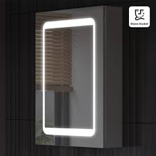 Bathroom Mirror With Lights Built In by Bathroom Cabinets Superb Led Bathroom Mirror Cabinet Led