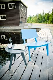 Polyethylene Patio Furniture by Modern Patio Lounge Chair Made In U S A Loll Designs