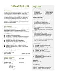 Customer Service Representative Resume Sample   Writing Resume