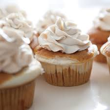 cheesecake filled pumpkin cupcakes rachael ray every day