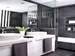 contemporary bathroom ideas grey and white black decor teenage