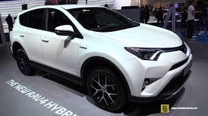 toyota motor car 2016 toyota rav4 hybrid exterior and interior walkaround 2015
