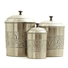 old dutch 4 pc antique embossed heritage canister set hayneedle