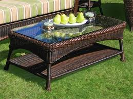 Painting Wicker Patio Furniture - special wicker patio table u2013 outdoor decorations