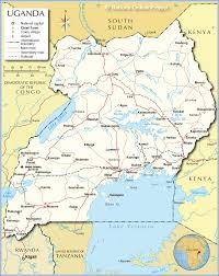 Map Of Kenya Africa by Political Map Of Uganda Nations Online Project