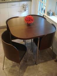 small square dining table futuristic tempered glass curved base