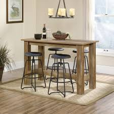 boone mountain counter height dinette table 416698 sauder