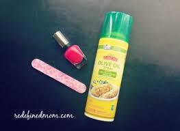 diy fast drying nail polish spray