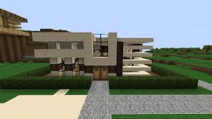 small modern house minecraft project