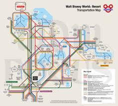 Map Of Downtown Disney Orlando by Walt Disney World Transportation Map Maplets