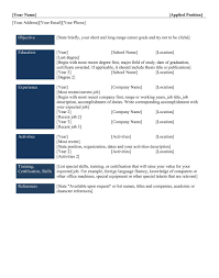 best resume examples  how to write a free chronological resume       happytom co
