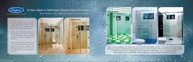 shower glass partition u2013 bathroom glass partiiton