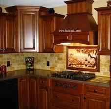 Kitchen Backsplash Cherry Cabinets by Kitchen Backsplash Ideas With Cherry Cabinets Vineyard Kitchen
