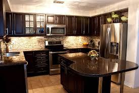 Dark And White Kitchen Cabinets White Or Dark Kitchen Cabinets With Regard To White Kitchen Or