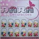 Adesivo de unha - borboleta | Nara Decorações | Elo7