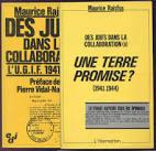 RAJSFUS MAURICE 2 volumes, Des Juifs dans la Collaboration UGIF ...