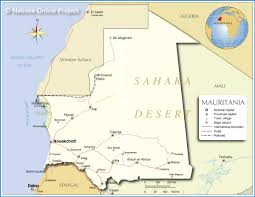 Map Of Mali Africa by Map Of Mauritania Nations Online Project