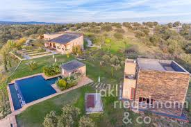 Pool Guest House Country Estate For Sale In Spain Castilla La Mancha Toledo