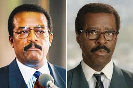 Did Marcia Clark and Christopher Darden Ever Actually Hook Up  The     Johnnie Cochran  played by Courtney B  Vance
