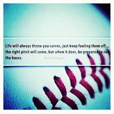 baseball quote on Tumblr
