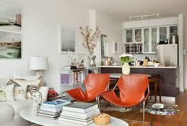 Small Eclectic Style Apartment Design In New York - Small new york apartment design