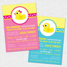 printable baby shower invitations for boys little rubber duckyduck baby shower invitation printable