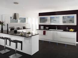 white kitchen cabinets dark granite countertops outofhome perfect modern kitchen with white cabinet and black countertop