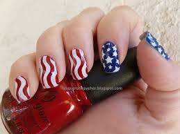 lacquer or leave her notd july 4th manicure or happy birthday