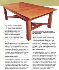 arts and crafts dining table plans u2022 woodarchivist