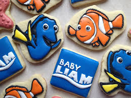 Finding Nemo Centerpieces by Finding Nemo Cookie Connection Baby Pinterest Finding Nemo